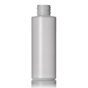 Natural HDPE Cylinder Bottle